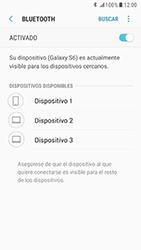 Samsung Galaxy S6 - Android Nougat - Bluetooth - Conectar dispositivos a través de Bluetooth - Paso 7
