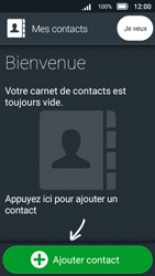 Doro 8031 - Contact, Appels, SMS/MMS - Ajouter un contact - Étape 5