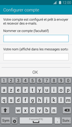 Samsung G901F Galaxy S5 4G+ - E-mail - Configuration manuelle - Étape 17