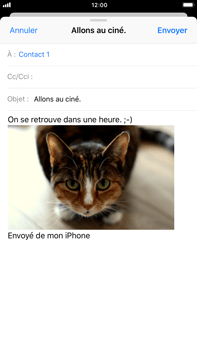 Apple iPhone 8 Plus - E-mails - Envoyer un e-mail - Étape 14