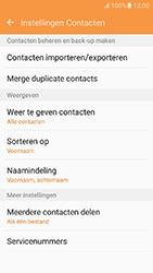 Samsung Galaxy J5 2016 - Contacten en data - Contacten kopiëren van toestel naar SIM - Stap 6