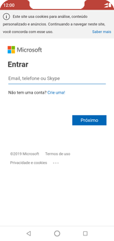 Motorola One - Email - Como configurar seu celular para receber e enviar e-mails - Etapa 8