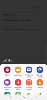 Samsung Galaxy S10 Plus - E-mail - envoyer un e-mail - Étape 12