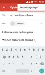 Alcatel Pixi 4 (4) - E-mail - Hoe te versturen - Stap 12