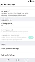 LG G5 SE - Android Nougat (LG-H840) - Instellingen aanpassen - Fabrieksinstellingen terugzetten - Stap 5
