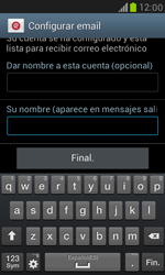 Samsung Galaxy S3 Mini - E-mail - Configurar Yahoo! - Paso 10