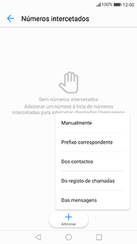 Huawei Mate 9 - Chamadas - Como bloquear chamadas de um número -  8