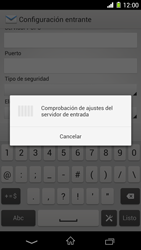 Sony Xperia Z1 - E-mail - Configurar correo electrónico - Paso 11