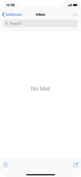 Apple iPhone X - iOS 12 - Email - Sending an email message - Step 3