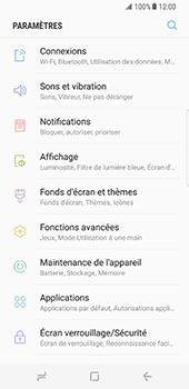 Samsung Galaxy S8 - Wi-Fi - Accéder au réseau Wi-Fi - Étape 4