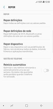 Samsung Galaxy S8 - Android Oreo - Repor definições - Como repor definições de fábrica do telemóvel -  7
