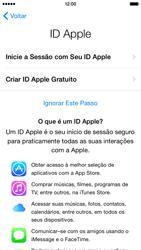 Apple iPhone iOS 8 - Primeiros passos - Como ativar seu aparelho - Etapa 15