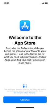 Apple iPhone X - iOS 12 - Applications - Download apps - Step 5