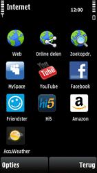 Nokia X6-00 - Internet - internetten - Stap 3