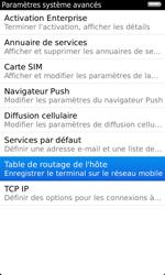 BlackBerry 9860 Torch - Paramètres - Reçus par SMS - Étape 6