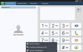 Samsung P5220 Galaxy Tab 3 10-1 LTE - Voicemail - handmatig instellen - Stap 5