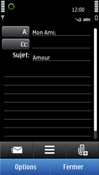 Nokia N8-00 - E-mail - envoyer un e-mail - Étape 8