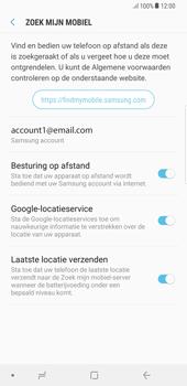 Samsung Galaxy S8 Plus - Android Oreo - Beveiliging en privacy - Zoek mijn mobiel activeren - Stap 9