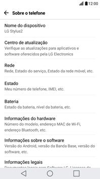 LG G5 Stylus - Funções básicas - Como atualizar o software do seu aparelho - Etapa 5