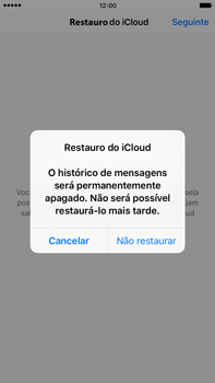 Apple iPhone 6s Plus - Aplicações - Como configurar o WhatsApp -  12