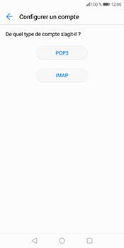 Huawei P Smart - E-mail - Configuration manuelle - Étape 9