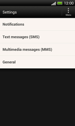 HTC C525u One SV - SMS - Manual configuration - Step 6