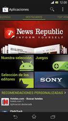 Sony Xperia Z - Aplicaciones - Tienda de aplicaciones - Paso 17