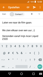 Acer Liquid Z320 - E-mail - e-mail versturen - Stap 9