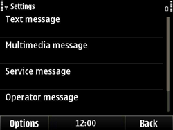Nokia E6-00 - SMS - Manual configuration - Step 5