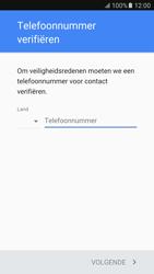 Samsung Galaxy S6 - Android M - Applicaties - Account aanmaken - Stap 7
