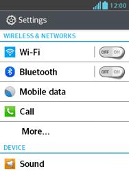 LG E430 Optimus L3 II - Internet - Usage across the border - Step 4