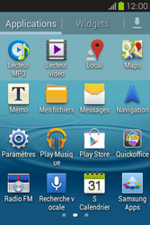 Samsung S6810P Galaxy Fame - MMS - configuration manuelle - Étape 4