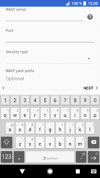 Sony Xperia XZ1 - Email - Manual configuration - Step 12