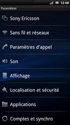 Sony Ericsson Xperia Arc - Internet - activer ou désactiver - Étape 4