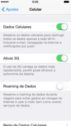 Apple iPhone iOS 7 - Internet (APN) - Como configurar a internet do seu aparelho (APN Nextel) - Etapa 4