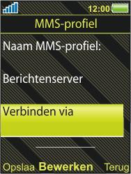 Sony Ericsson W995 - MMS - handmatig instellen - Stap 19