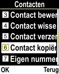Emporia CLICKplus 3G (Model V32-3G) - Contacten en data - Contacten kopiëren van SIM naar toestel - Stap 4