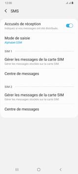 Samsung Galaxy A70 - SMS - configuration manuelle - Étape 9