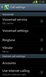 Samsung I8260 Galaxy Core - Voicemail - Manual configuration - Step 6
