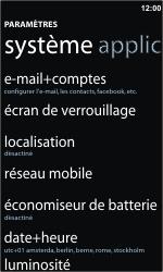 Nokia Lumia 900 - Internet - activer ou désactiver - Étape 4