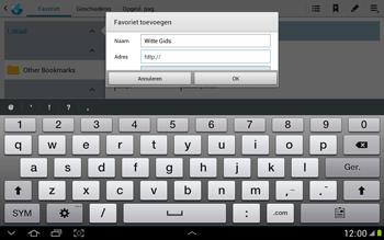Samsung N8000 Galaxy Note 10-1 - Internet - Internetten - Stap 7