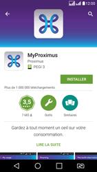 LG K8 - Applications - MyProximus - Étape 9