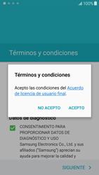 Samsung Galaxy J5 - Primeros pasos - Activar el equipo - Paso 7