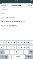Apple iPhone 6 iOS 9 - E-mail - Envoi d