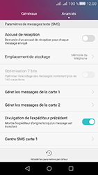 Huawei Y6 II Compact - SMS - configuration manuelle - Étape 5