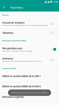 OnePlus 3 - Android Oreo - SMS - configuration manuelle - Étape 9