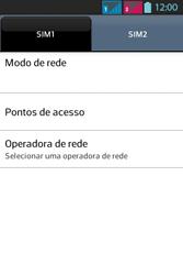 LG Optimus L5 Dual - Internet - Como configurar seu celular para navegar através de Vivo Internet - Etapa 8