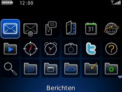 BlackBerry 9300 Curve 3G - MMS - Afbeeldingen verzenden - Stap 2