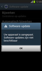 Samsung I8190 Galaxy S III Mini - Software update - update installeren zonder PC - Stap 7
