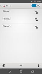 Sony E2003 Xperia E4G - Wifi - configuration manuelle - Étape 5